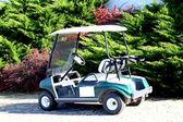 Автомобиль гольфа — Стоковое фото