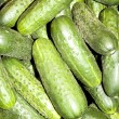 Fresh Organic Cucumbers — Stock Photo #1263333