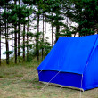 Royalty-Free Stock Photo: Blue tent