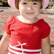 Foto de Stock  : Cute little girl