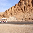 Stock Photo: Road in valley of pharaoh