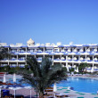 Resort Hotel on the Red Sea — Stock Photo