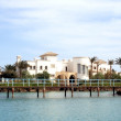 Luxurious hotel in El Gouna - Stock Photo