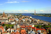 Riga Panorama — Stock Photo