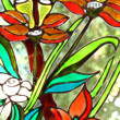 Stained glass — Stock fotografie
