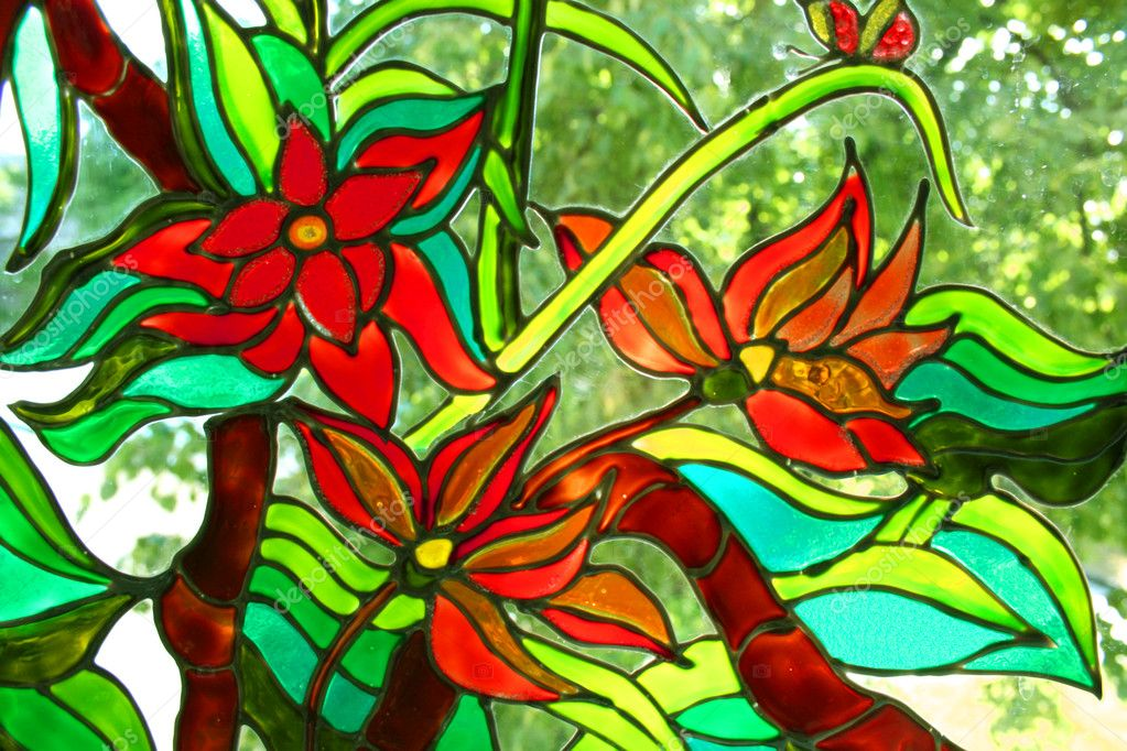 Stained glass stock photo ursula1964 1274181 for Beautiful painting designs