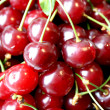 Stock Photo: Juicy ripe cherry