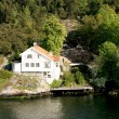 Villa in the Stockholm archipelago — Stock Photo