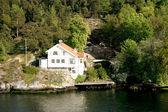 Villa in the Stockholm archipelago — Stock Photo