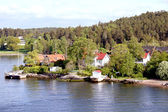 Landscape on Stockholm archipelago — Stock Photo