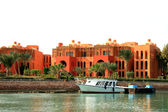 Luxurious hotel in El Gouna — Stock Photo