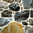 Stock Photo: Stone brick wall texture tile.