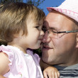 Father and little daughter — Stock Photo