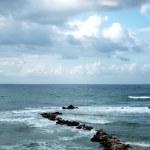 Winter Mediterranean sea — Stock Photo #1515018
