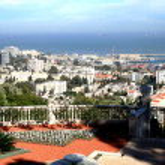 Panorama of Haifa city — Stock Photo