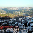 Stock Photo: View a hill to country of Abu-Ghoush