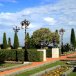 Magnificent Bahai garden — Stock Photo