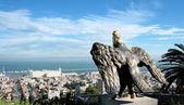 Panorama van de stad haifa — Stockfoto