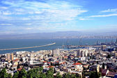 Scenic view of Haifa city — Stock Photo