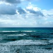 Winter Mediterranean sea - Stock Photo