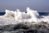 Waves after a storm — Stock Photo
