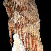 Big stalactites — Stock Photo