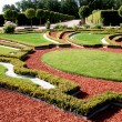 Beautiful garden in Rundale palace — Stock Photo #1842012
