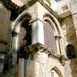 Stock Photo: Wall Holy Sepulchre church in Jerusalem