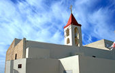 Greek Orthodox Church in Acre — Stock Photo