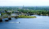 Panorama view of Riga — Stock Photo