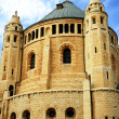 An old abbey in Jerusalem agains — Stock Photo