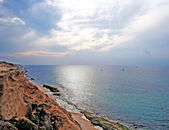 Coastline of Mediterranean sea — Stock Photo