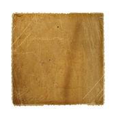 Grunge crumpled paper design in scrapboo — Stock Photo