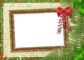 Beautiful card for congratulation or inv — Stock Photo