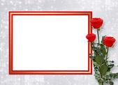 Kort för gratulationen eller inbjudan wi — Stockfoto