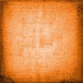 装饰风格的抽象橙色破旧背景 — 图库照片