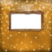 Gamla ram för foto eller inbjudningar att — Stockfoto