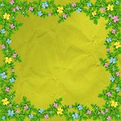 Grunge vintage multicoloured background — Stock Photo