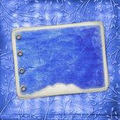 álbum de foto com folhagem ornamental — Foto Stock