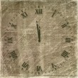 Antique clock face on abstract backg — Stock Photo #1155222