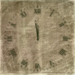 Antique clock face on the abstract backg — Stok fotoğraf