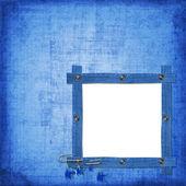 抽象蓝色牛仔裤背景与江海 — 图库照片