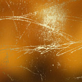 Grunge abstract background with gold cl — Stock Photo