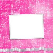 Festive invitation or congratulations fo — Stock Photo