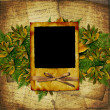 Old grunge frame on the abstract backgro — Stock Photo #1213064