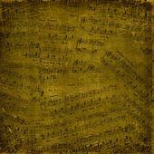Arka plan ile müzik notlar — Stok fotoğraf