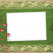 Stock Photo: Card for anniversary or congratulation