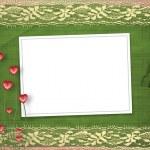 Card for anniversary or congratulation — Stock Photo #1888538
