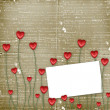 Card to St. Valentine's Day — Stok fotoğraf