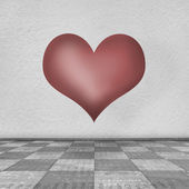 Greeting Card to St Valentine Day — Stock Photo